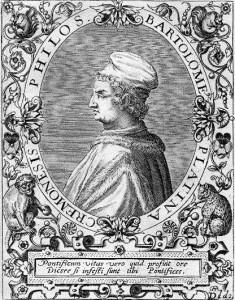 Platina Bartolomeo Sacchi di Jean Jacques Boissard 235x300 The Oldest Recorded Cannabis Recipe