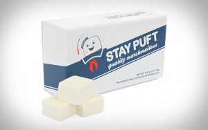 stay puft marshmallows 300x188 Coconut and Chocolate Covered Marshmallow Cannabis Balls