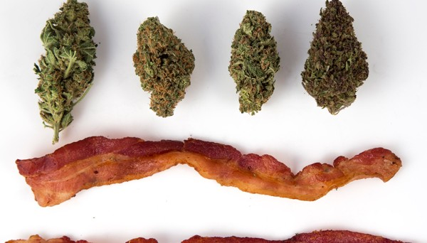 bacon and weed