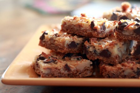 magic cookie bars Magical Magic Cookie Bars