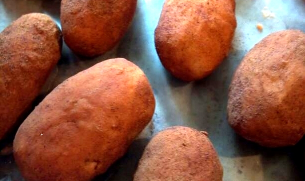 pot potatoes Cinnamon Coated Irish POTatoes
